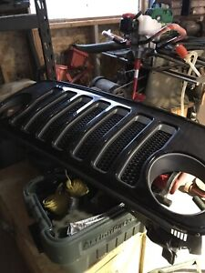 JL Jeep Rubicon front grill