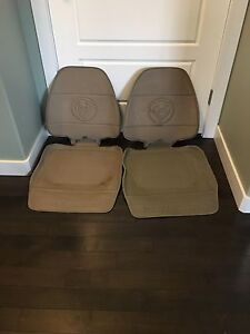 Seat protectors for under carseats