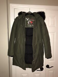 Moose Knuckles Ladies Parka - New - Size Small