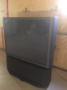 "56"" inch Sony TV with controller"