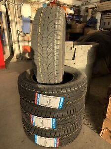 4 pneus hiver/ winter + 205/65/16