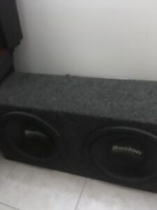 """Two 10"""" subs and kicker amp **REDUCED PRICE**"""