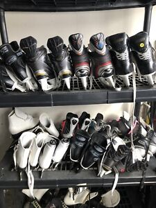 Kids and adult ice skates