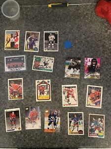 NHL Autograph cards and etc