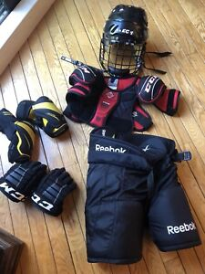 Équipment hockey 70$