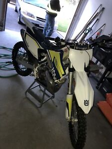 Mint 2016 Husqvarna TC 250 with some goodies !!