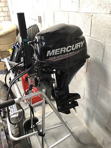 Brand new mercury motor used for 1 season