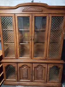 display cabinet buffet hutch vaisselier kitchen dining delivery