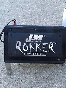 J&M Rokker XT  250W 2 Channel Amp Road Glide