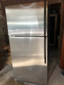 Whirlpool stainless steel fridge