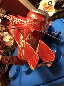 Coca Cola or beer can hand made planes for sale
