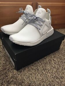 100% Authentic NMD XR1 white on white limited edition size 9.5