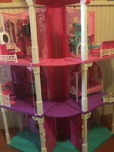 Full Barbie dream house set