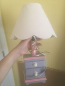 children's lamp with drawers
