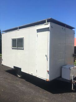 Work site van - ex council - tiny house - food van - caravan