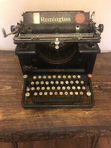 Antique Remington model 12 Typewriter