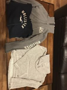 Hollister and American Eagle Hoodies