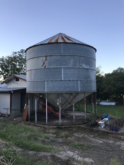 100 tone Webster silo