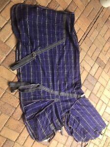 Caribu Wool Combo Rug 6 0 Excellent Condition 50 Br Rainsheets Both Good Used 30 Each Kool Coat