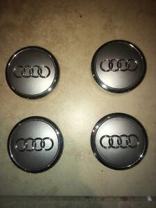 Audi centre caps