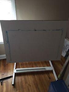 Drawing / drafting table 4x3 feet