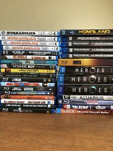 Blu Ray Movies and Seasons! Price in Ad