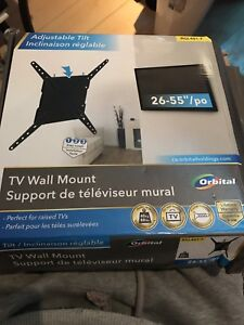 """26-55"""" Wall mount (Never used)"""