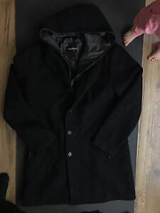 Danier Men's wool and leather jacket medium