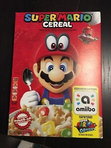 Super Mario Cereal with Amiibo Support