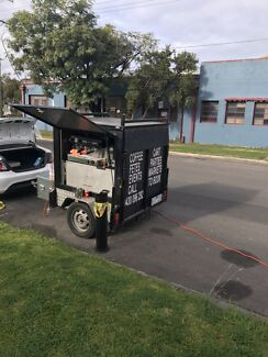 Mobile Coffee Cart cafe business for sale