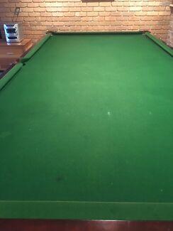 Slate billiard table