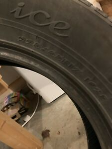 225/65R17 Studded Winter Tires Used Two Seasons