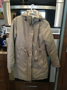 Beige Ladies Winter Coat - Brand New