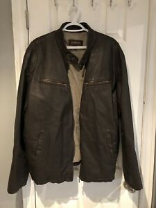 Men's Danier Leather Coat -XL