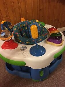 Leap frog exersaucer