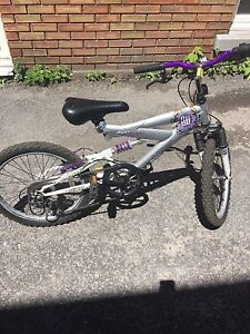Kids 20 inch dual suspension bike
