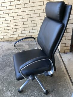 Premium Leather Office Chair -