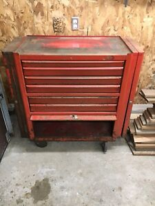 Vintage Herbrand Rolling Tool Box For Sale!!
