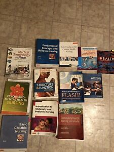 LPN 1st&2nd year text books
