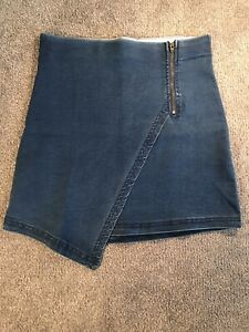 Chicabooti Denim Look Skirt Size 8 Narre Warren Casey Area Preview