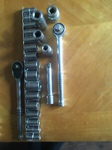 Mastercraft Sockets/Ratchets (Metric & Standard) $40 firm