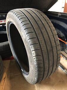 4 Michelin all season tires, 235/45/R18