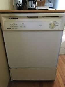 Kenmore Portable Dishwasher with countertop