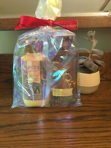 Bath & Body Works Body Lotion, Shower Gel and 3-Wick Candle