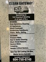 RV cleaning and detailing