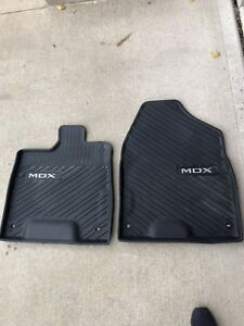 2018 Acura MDX winter mats front only
