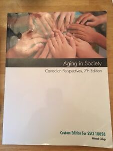 Aging in society Canadian Perspectives, 7th Edition
