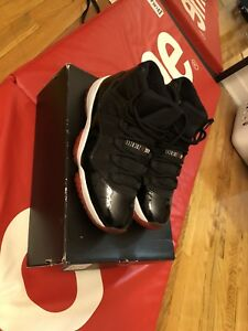 AIR JORDAN 11 VNDS SIZE 10 BRED OG EVERYTHING