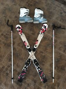 Childrens Skis, Boots and Poles *ONLY $110*