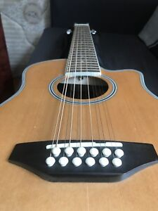 Beaver Creek travel sized 12 string with pickup!